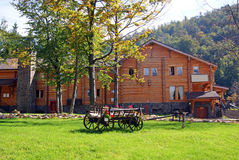 Mountain Cottage Royalty Free Stock Photo