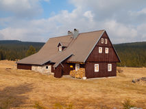 Mountain cottage (Muck house) Stock Photo