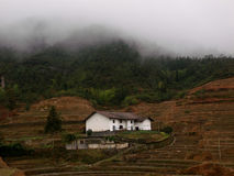 Mountain cottage Royalty Free Stock Image