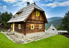 Mountain cottage Royalty Free Stock Images
