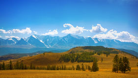 Mountain country stock image