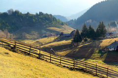 Mountain country landscape Royalty Free Stock Images