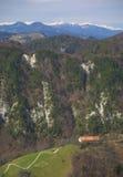 Mountain countryside Stock Photos