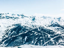 Mountain Covered With Snow Royalty Free Stock Photo