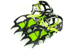 Mountain crampons Isolated Stock Image