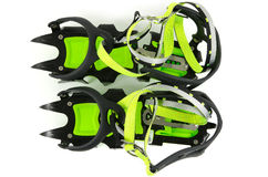 Mountain crampons Isolated Royalty Free Stock Photography