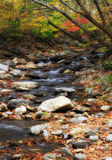 Mountain Creek. Small Mountain Stream in the Fall Stock Photo