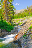 Mountain Creek in the American West Stock Image