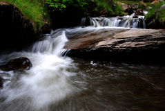 Mountain Creek. Little waterfall of an mountain creek Stock Image