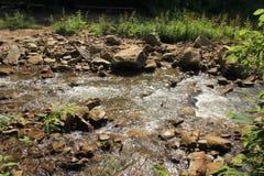 Mountain creek. Near Karachaevsk Stock Photography