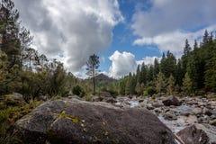 Mountain creek in Peneda Geres, Portugal.  royalty free stock image