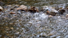 Mountain creek with rocks Stock Image