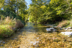 Mountain Creek in Upper Austria Royalty Free Stock Photos