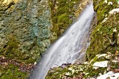 Mountain creek waterfall long exposure Royalty Free Stock Photo