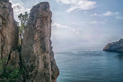 Mountain Crimea, the Black Sea. Russia. Stock Photo