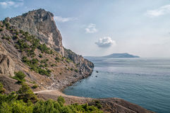 Mountain Crimea, the Black Sea. Russia. Royalty Free Stock Photos