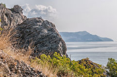 Mountain Crimea, the Black Sea. Russia. Stock Photography