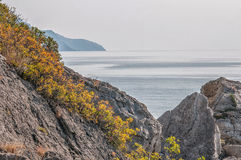 Mountain Crimea, the Black Sea. Russia. Royalty Free Stock Image