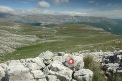 Mountain in Croatia Royalty Free Stock Photos