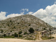 Mountain in Croatia. High mountain Biokovo in Croatia stock photo