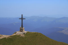 Mountain Cross Royalty Free Stock Photo
