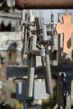 The mountain of crosses Royalty Free Stock Photography