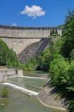 Mountain dam Royalty Free Stock Photo