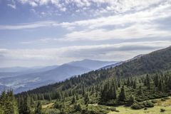 Carpathians. Mountain Stock Images