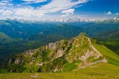 Mountain day summer Stock Photo