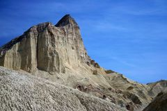 Mountain in Death Valley Stock Image