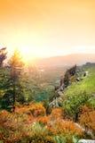 Mountain Demerdji in autumn Stock Photo