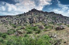Mountain Demerji. The peninsula of Crimea Stock Photo
