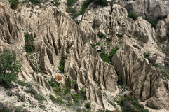 Mountain Demerji. The peninsula of Crimea Royalty Free Stock Photo