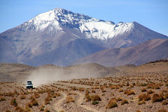 Mountain and desert Stock Photography