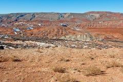 Mountain and desert Stock Photos