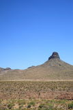 Mountain and Desert Landscape Royalty Free Stock Photo
