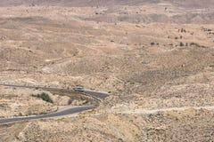 Mountain  on desert Royalty Free Stock Photography