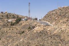 Mountain  on desert Stock Photo