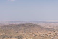 Mountain  on desert Royalty Free Stock Image