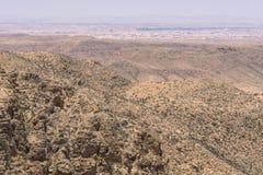 Mountain  on desert Stock Photography