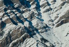 Mountain detail in winter Stock Photography