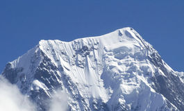 Mountain Dhaulagiri. Dhaulagiri, Annapurna Region in Nepal Royalty Free Stock Images