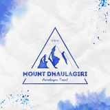 Mountain Dhaulagiri logo. vector illustration