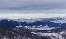 Mountain Didveli-Samtskhe-Javakheti-Georgia Stock Photography