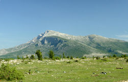 Mountain Dinara - Croatia Royalty Free Stock Images