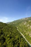 Mountain district  other plants. Montenegro Royalty Free Stock Image