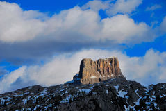 Mountain in the dolomite Royalty Free Stock Photo