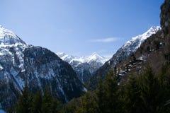 Mountain Dreiherrenspitze, East Tyrol, Austria Royalty Free Stock Images