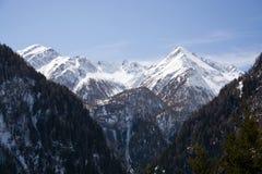Mountain Dreiherrenspitze, East Tyrol, Austria Royalty Free Stock Image