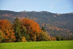 Mountain Dreisessel, Bavaria Royalty Free Stock Images
